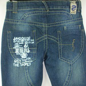 Desigual Boys Washed Look Jeans